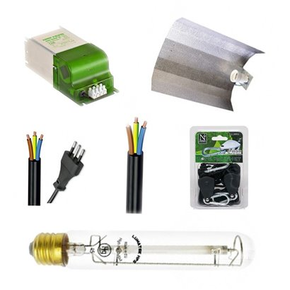 GROW BOX HOME BOX COMPLETA 60X60X140 250 WATT HPS
